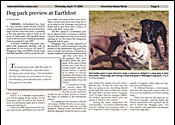 Advertiser News - Dog Park Preview