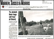 Star Ledger Stretch Legs
